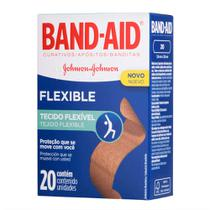 Curativos Band Aid Flexible 20 Unidades - Band-Aid