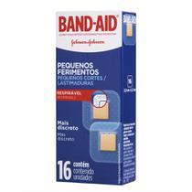 Curativos Band-Aid para Pequenos Ferimentos 16 Unidades -