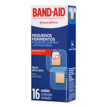 Curativos Band Aid Pequenos Ferimentos 16 Unidades - Band-Aid