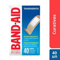 Curativos BAND AID Regular 40 unidades -