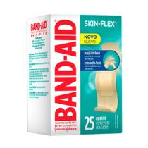 Curativos Band Aid Skin Flex Flexíveis 25 Unidades - Band-Aid