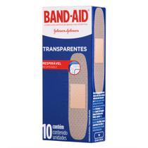 Curativos Band Aid Transparentes 10 Unidades - Band-Aid