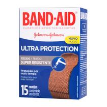 Curativos Band Aid Ultra Protection 15 Unidades - Band-Aid