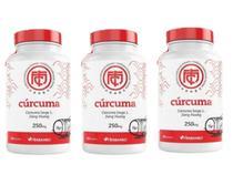 Curcuma Longa 250mg Original Herbamed Kit 180 Cápsulas -