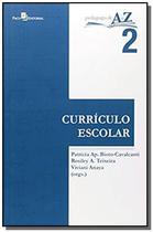 Curriculo escolar - vol.2 - colecao pedagogia de a - PACO EDITORIAL