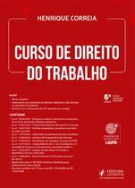 Curso De Direito Do Trabalho - 6º Edição - (2021) - Juspodivm -