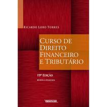 Curso de direito financeiro e tributário - Renovar -