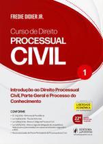 Curso de direito processual civil - vol.1 - didier - Juspodivm