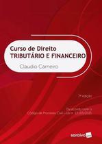 Curso De Direito Tributário E Financeiro 7ªed. - Saraiva -