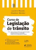 Curso de Legislação de Trânsito - 7ª Edição (2021) - Juspodivm -