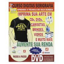 Curso Digitas Serigrafia(SilkScreen) DVD + Revista/Curso - Passo a Passo -