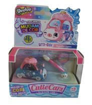 Cutie Cars - Shopkins - Algodão Ligeiro - Os Carros Mudam De Cor -7908084701376 - Dtc