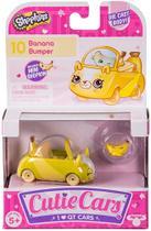 Cutie Cars - Shopkins - Carrinho Banana Breque - Dtc - 4559 -
