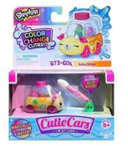Cutie Cars - Shopkins - Suco Racer - Os Carros Mudam De Cor - Dtc