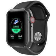 D28 Relógio Smartwatch Pulseira Inteligente Monitor Cardíaco Pressão Arterial cor: Preto - Abc