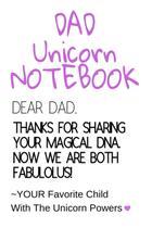 Dad Unicorn Notebook - Inge baum