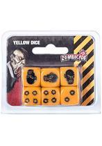 Dados Zombiecide - Amarelo - Galápagos
