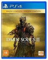 Dark Souls 3 The Fire Fades Edition - PS4 Mídia Física - Bandai Namco