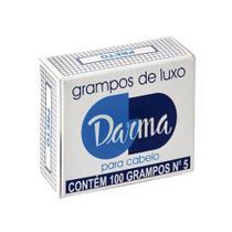 Darma Grampo P/ Cabelo Preto P -