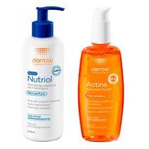Darrow Actine e Nutriol Kit - Loção Hidratante + Sabonete Líquido -