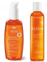 Darrow Actine Sabonete Líq Facial 140ml/ Loção Adstringente Actine -190ml -