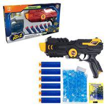 Dart Z Blaster Lançador 25cm 2 em 1 c/ 200 bolinhas de gel e 6 Dardos Art Brink 3094 -