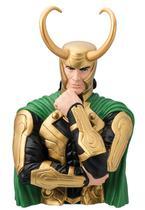DC Loki Action Figure Cofre Busto Oficial Licenciado - Marvel