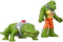 Dc Super Friends Imaginext - Croc & Crocodilo - Mattel -