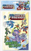 DC Super Friends - Solapa média com 8 livros - Todolivro -