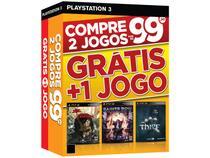 Dead Island Riptide + Saints Row IV + Thief - para PS3 Ecogames