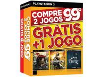 Dead Island Riptide + Sniper Ghost Warrior + Thief - para PS3 Ecogames