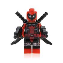 Deadpool - Minifigura De Montar Marvel - Aliança Geek