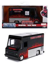 DeadPool Taco Food Truck Preto - Hollywood Rides - 1/32 - Jada -