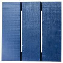 Deck Colorido Painel Modular 30x30 Isabela Revestimentos (Placa) Azul Del Rey -