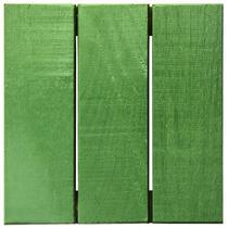 Deck Colorido Painel Modular 30x30 Isabela Revestimentos (Placa) Verde Folha -