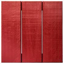Deck Colorido Painel Modular 30x30 Isabela Revestimentos (Placa) Vermelho Tomate Seco -