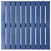Deck Colorido Painel Modular 50x50 Isabela Revestimentos (Placa) Azul Del Rey -