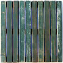 Deck Colorido Painel MS Pátina 50x50cm Isabela Revestimentos Verde -