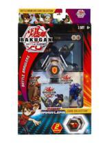 Deck de batalha - bakugan -  Nillious Ultra - Sunny Brinquedos -