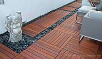 Deck De Madeira Ipê 50X50cm - Woodglass