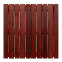 Deck modular 50x50cm padrão imbuia mader silva -