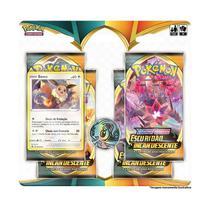Deck Pokémon - Blister Quadruplo - Escuridão Incandescente - EEVEE - Copag