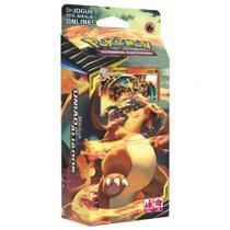 Deck Pokémon - Starter Deck - Sol e Lua - União de Aliados - Charmander - Copag -