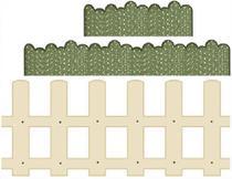Decoração para parede MDF Decoupage Cerquinha DMA1-010 - Litoarte -