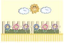 Decoração para parede MDF Decoupage Flores DMA1-009 - Litoarte -