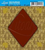 Decoupage Adesiva Q Hot Stamp DAXH-016 Litoarte -