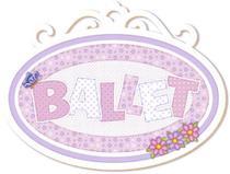 Decoupage Aplique em Papel e MDF Ballet APM20-033 - Litoarte -