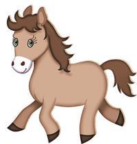 Decoupage Aplique em Papel e MDF Cavalo APM12-021 - Litoarte -