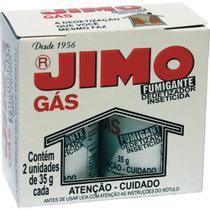 Dedetizador Inseticida Jimo Gás 35g Embalagem com 2 Unidades -