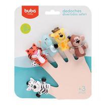 Dedoches Divertidos Safari Colorido Buba Toys 3+ -